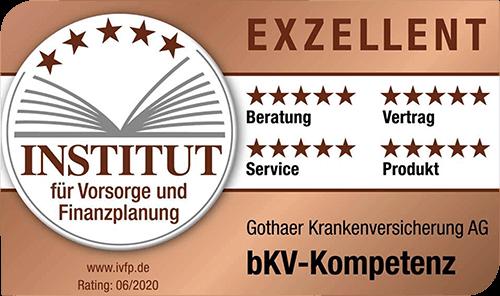 Institut für Vorsorge und Finanzplanung-Gothaer KV Rating